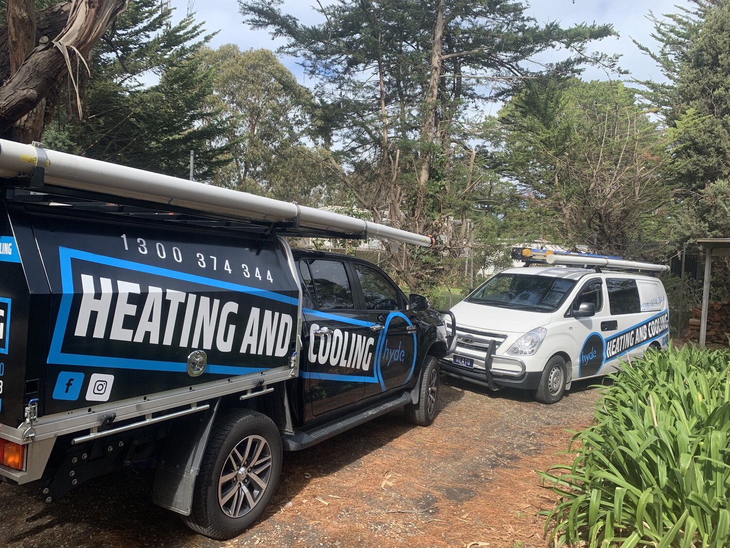 Hyde Heatingand Cooling Vehicles Shoreham