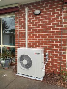 Mitsubishi Split System Air conditioner Rosebud